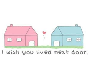 love, house, and wish image