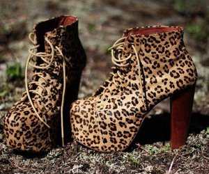 beautiful, fashion, and leopard image