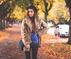 fashion, autumn, and girl image