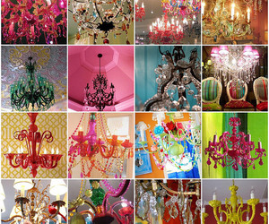 chandelier, color, and room image