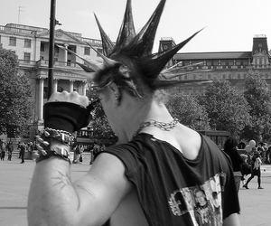 punk, hair, and punk rock image