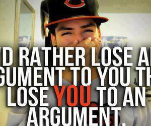 argument, lose, and quote image