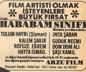 hababam sinifi and yeşilçam image