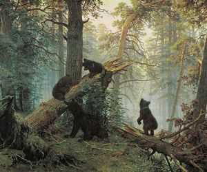 bear and painting image