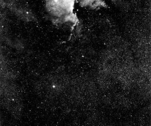 night, sky, and stars image