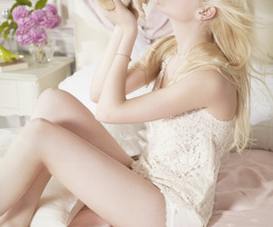 blonde, bunny, and model image