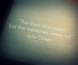 memories, Paper, and quotes image
