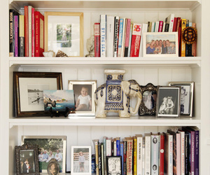books, home, and bookshelf image