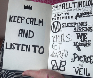 all time low, panic! at the disco, and bands image