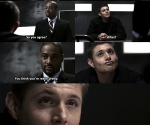 supernatural, dean winchester, and adorable image