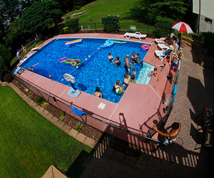 pool, cool, and photography image