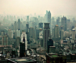 city, building, and shanghai image