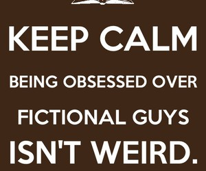 book, keep calm, and weird image