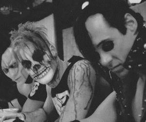 misfits, punk, and black and white image