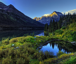 mountains, nature, and paysage image