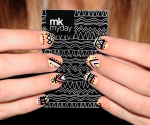awesome, color, and nail art image