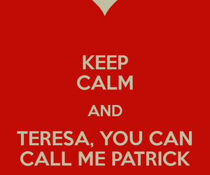 keep calm, the mentalist, and patrick jane image