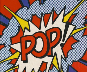 art, pop, and 60s image