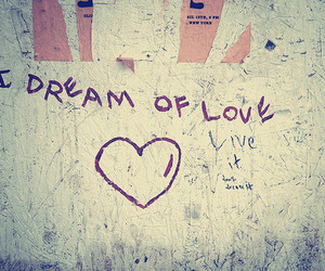 love, Dream, and heart image