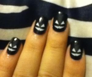 Halloween, hell, and nails image