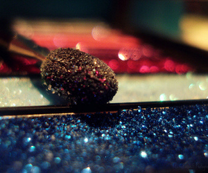 makeup and sparkles image