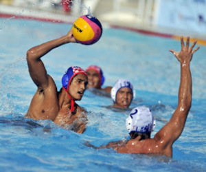 boys, water polo, and Hot image