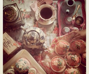 cute, cup, and tea image