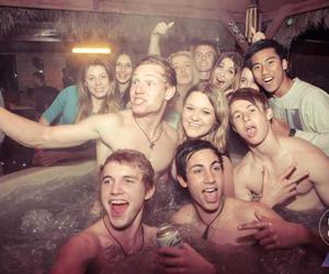 party, people, and smile image