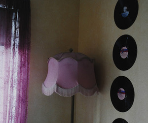 girl, lamp, and room image