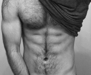 abs, arms, and sensual image
