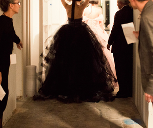 dress, fashion, and oscar de la renta image