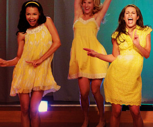 glee, lea michele, and tv image