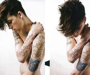 Ash Stymest, boy, and tattoo image