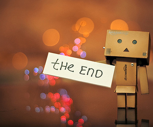 the end and end image