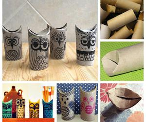 diy, owl, and tutorial image