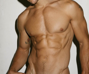 eye candy and shirtless man image