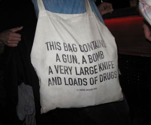 bad ass, bag, and drugs image