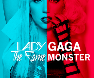 black and white, girl, and Lady gaga image