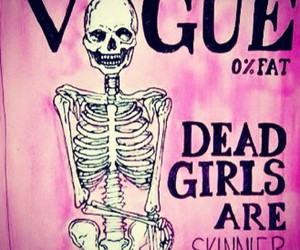 skinny, vogue, and dead image