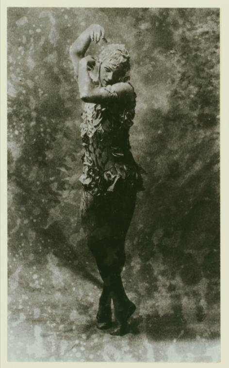 dancer, Vaslav Nijinsky, and vintage image