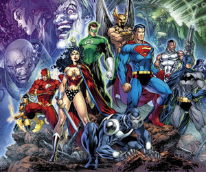 batman, justice league, and superman image