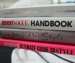 book, fashion, and lauren conrad image