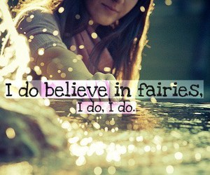 fairy, believe, and quote image