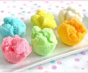 ice cream, colorful, and food image