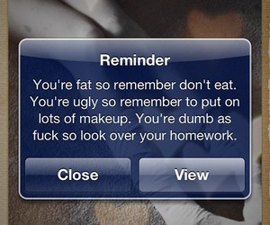 message, text, and thinspiration image