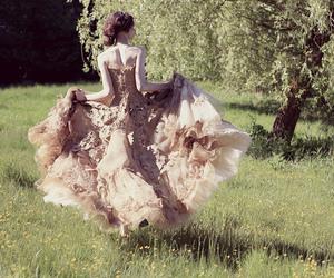 dress, pretty, and princess image