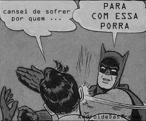 amor, black and white, and batman image