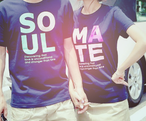 couple, cute, and soul mate image