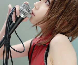 asian, red, and meiko image