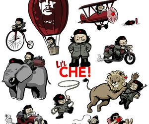 Che Guevara, illustration, and cute image